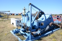 Wilson 600 Duplex mud pump