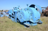 National 350 duplex mud pump