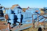 Gardner Denver FXQ duplex mud pump