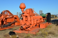 Wheland 14 inch with 8v71 detroit duplex mud pump