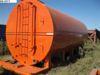 oilfield 200 barrel skidded water tank