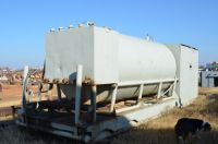 4000 gallon oilfield fuel tank with 5 compartment lubester