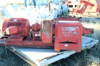 Oilmaster J100 Triplex mud pump 5000 PSi with 75 HP electric Motor and gear reduction